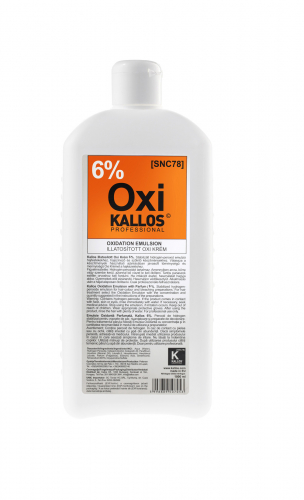 KALLOS Окислительная эмульсия парфюмированная - 6%, 1000 ml