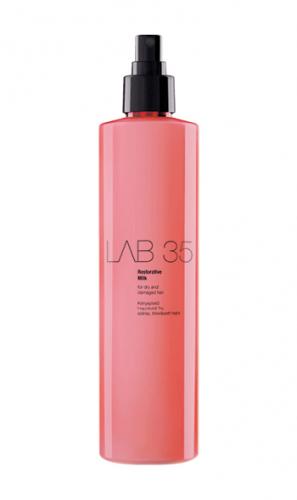 LAB Восстанавливающее молочко для укрепления сухих и повреждённых волос, 300 ml. Инновационная формула Keratrix.Без сульфатов и папрабенов.
