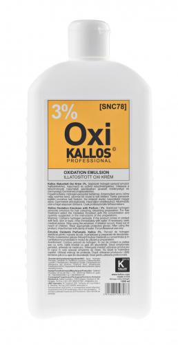 KALLOS Окислительная эмульсия парфюмированная - 3%, 1000 ml