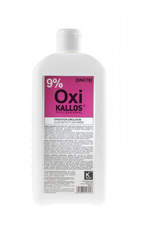 KALLOS Окислительная эмульсия парфюмированная - 9%, 1000 ml
