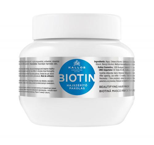 KJMN Маска для волос БИОТИН для улучшения роста волос с биотином, 275 ml