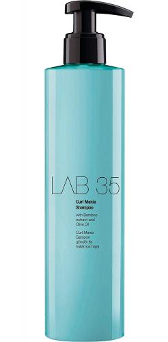 LAB Шампунь нежный, восстанавливающий для кудрявых и вьющихся волос.Инновационная формула Keratrix,300 ml