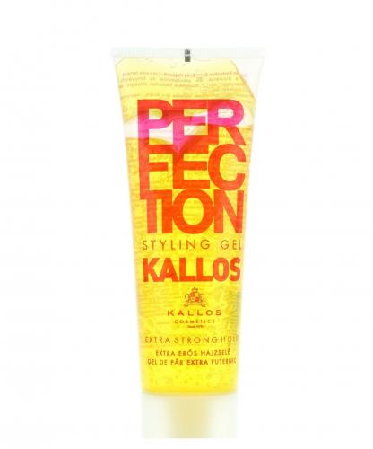 KALLOS Гель для укладки для волос экстра сильной фиксациис провитамином В5, 250 ml