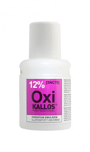 KALLOS Окислительная эмульсия парфюмированная - 12%, 60 ml