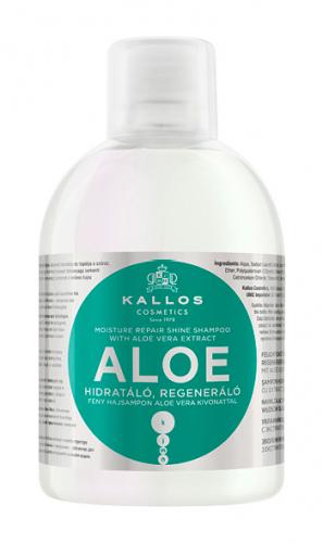 KJMN Шампунь АЛОЭ для увлажнения и питания сухих и поврежденных волос, 1000 ml