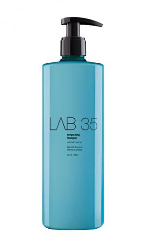 LAB Шампунь ОСВЕЖАЮЩИЙ без сульфатов для всех типов волос для роста и укрепления волос, 500 ml