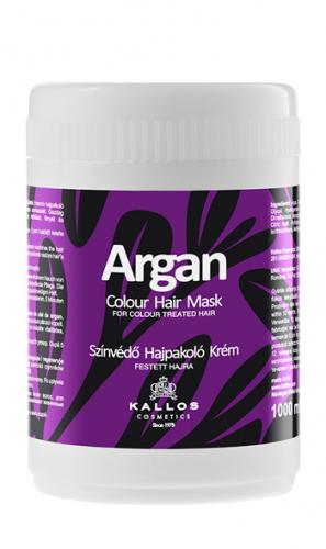 KALLOS МаскаАРГАНА для поддержания яркостицвета окрашенных волос, 1000 ml