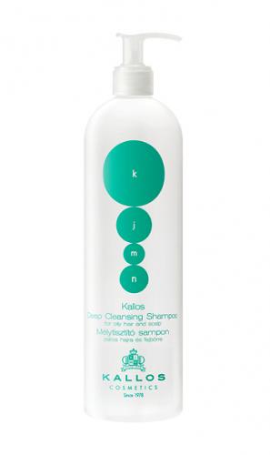 KJMN Шампунь глубокой очистки для нормальных и склонных к жирности волос, 500 ml