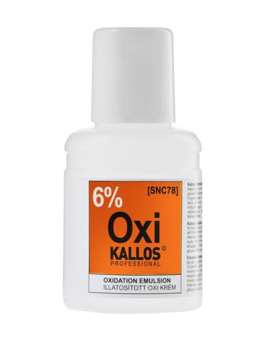 KALLOS Окислительная эмульсия парфюмированная - 6%, 60 ml