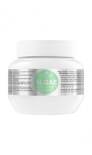 KJMN Маска для волос МОРСКИЕ ВОДОРОСЛИ с экстрактом водорослей и оливковым маслом, 275 ml