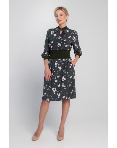 Платье 0139-01-27-03 Зеленый