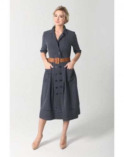 Платье 0127-01-13-00 Темно-синий