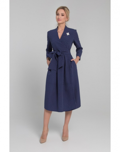 Платье 0065-02-13-16 Синий