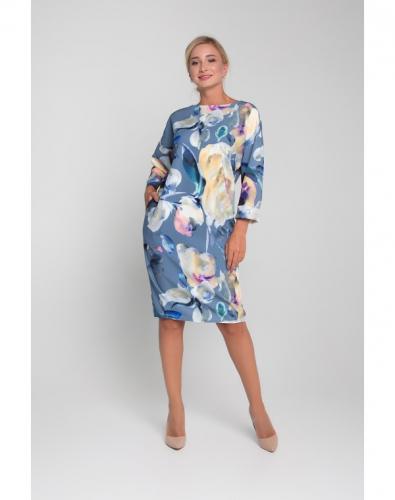 Платье 0052-02-13-03 Синий