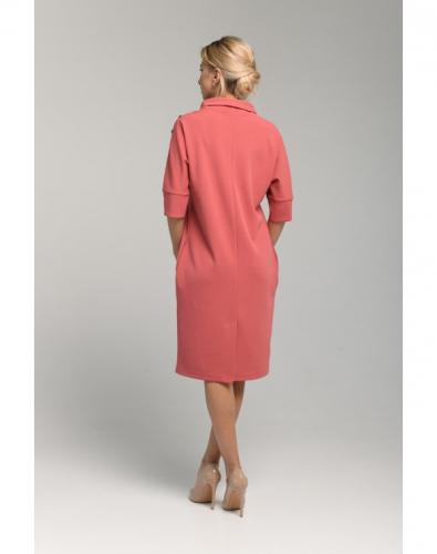 Платье 0098-02-21-04 Пыльная роза