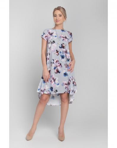 Платье 0068-02-27-01 Серый