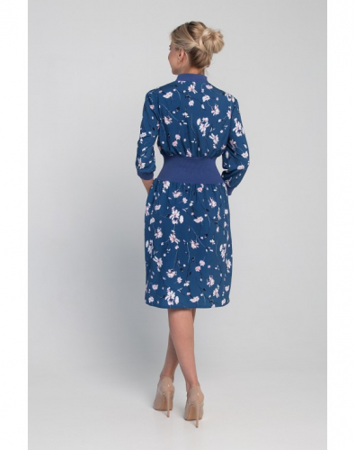 Платье 0139-01-27-02 Голубой