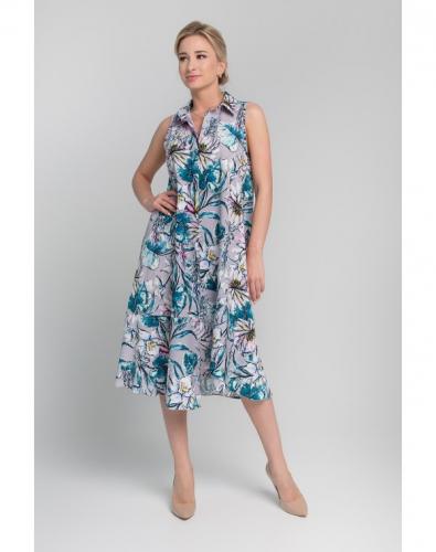 Платье 0146-01-13-00 Серый