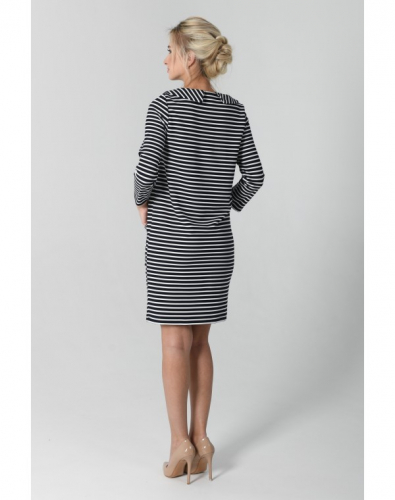 Платье 0080-01-12-00 Синий