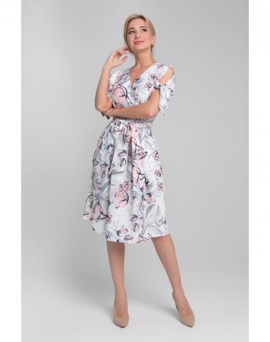 Платье 0151-01-27-01 Белый