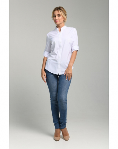 Блуза 0073-02-27-01 Белый