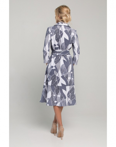 Платье 0146-02-04-00 Синий