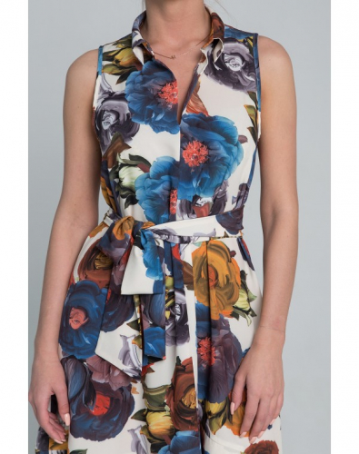 Платье 0146-01-13-01 Мультиколор