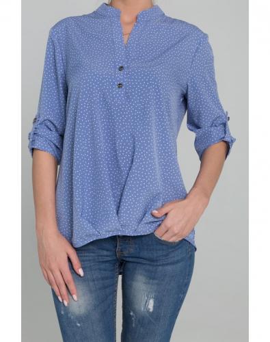 Блузка 0061-01-27-09 Синий