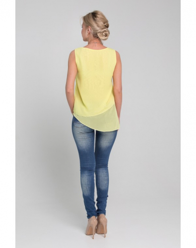 Блузка 0147-01-02-02 Желтый