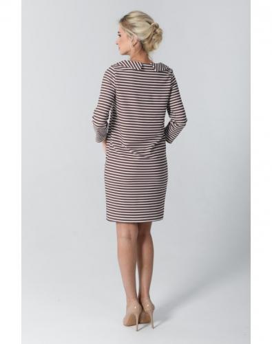Платье 0080-01-12-01 Коричневый