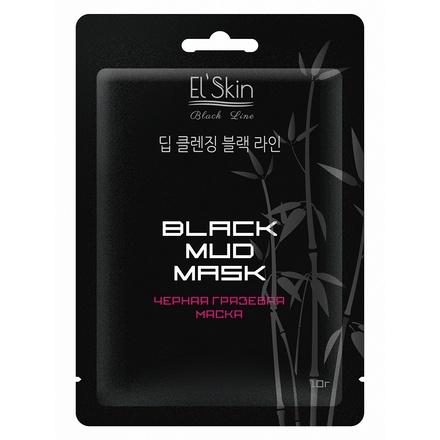 Черная грязевая маска