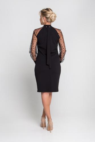 Платье 0163-01-04-01 Чёрный