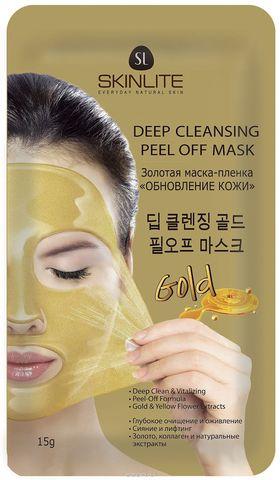 Золотая маска-пленка  Обновление кожи