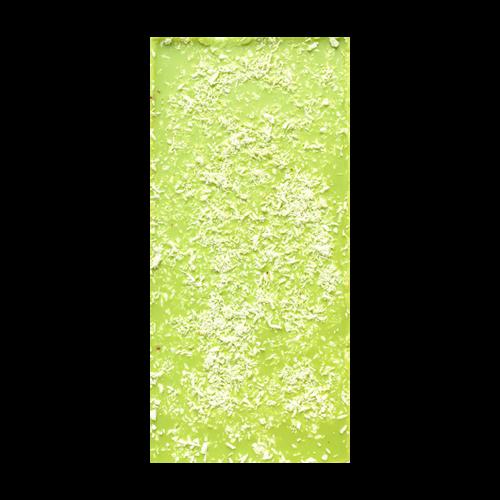 Шоколад цветной с лаймом и кокосом / 100 г