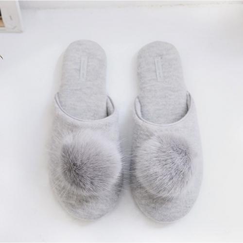 Тапочки «Фантазия» серые H1872
