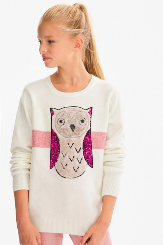 Pullover - Glanz Effekt