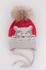 Шапка 52-54 Полярный мишка boy