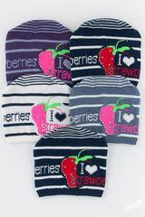 Шапка 50-52 Strawberries