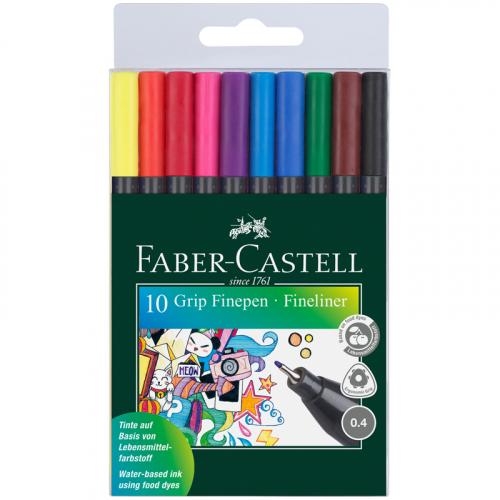Набор капиллярных ручек Faber-Castell