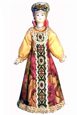 Традиционный летний костюм. Север России. к.XIX -