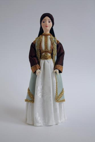 Женский костюм. Черногория
