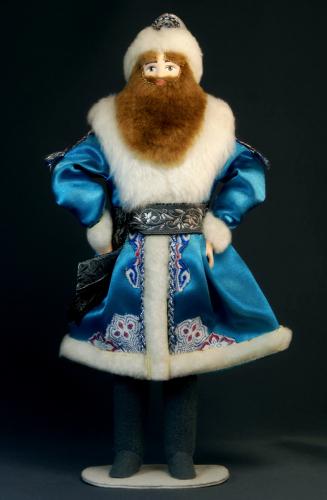 Кукла сувенирная фарфоровая. Февраль. Сказочный персонаж.