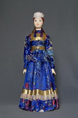 Каргопольский девичий костюм, стилизация