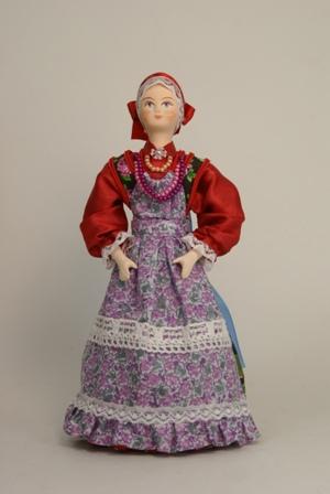 Девочка. Русский народный костюм.
