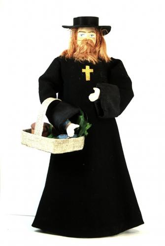 Кукла сувенирная фарфоровая. Поп. Сказочный персонаж.