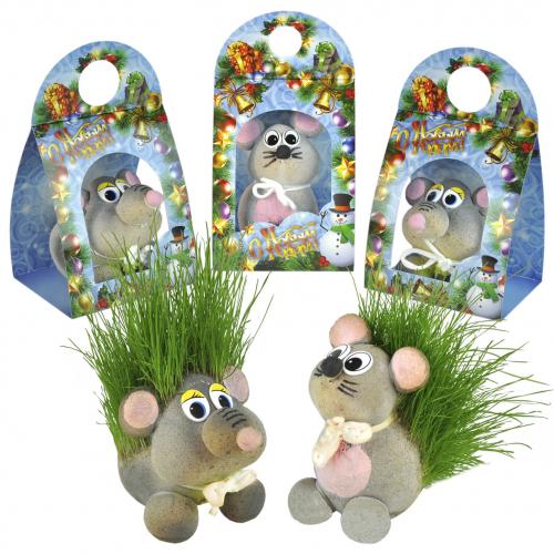 травянчик крыса и мышонок (Новогод.упаковка) (Н34)