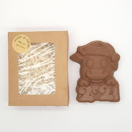 Шоколадный бык 2021