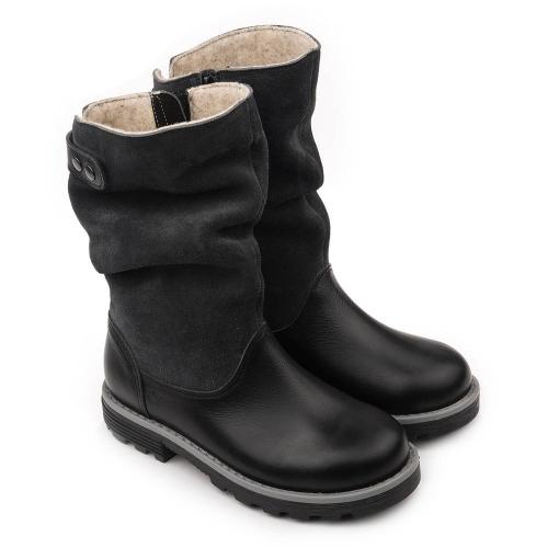 Сапожки зимние для девочки FT-22007.18-WL12O.01