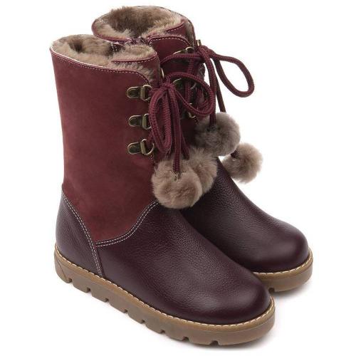 Сапожки зимние для девочки FT-22012.20-FL06O.01