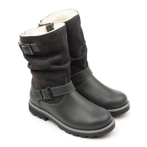 Сапожки зимние для девочки FT-22013.20-WL12O.01